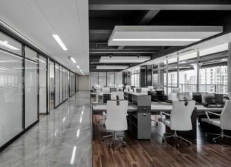 泉州办公室装修公司推荐 泉州简约办公室装修案例