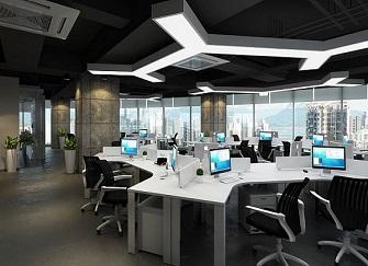 吉林办公室装修效果图 吉林办公室装修设计案例