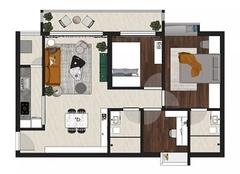 福州三室两厅装修多少钱 福州三室两厅创意装修效果图