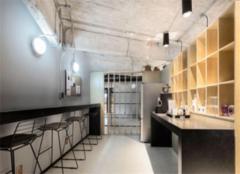 淄博办公室装修效果图 200平办公室工业风装修很时尚