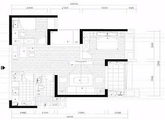 95平房子装修多少钱 舟山95平米三室一厅装修效果图
