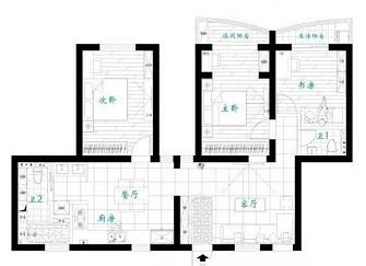 舟山西城锦园怎么样 109平方米3室2厅装修效果图