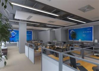 杭州办公室装修设计公司 办公室装修效果图鉴赏