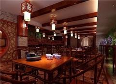 广州茶楼装修多少钱 茶楼装修风格设计效果图