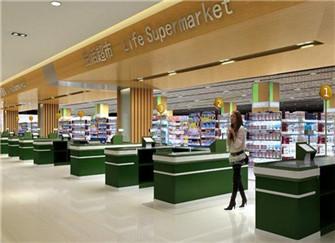 重庆超市装修设计 超市装修设计图片大全