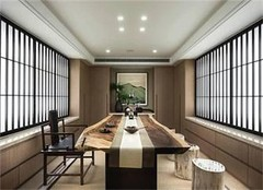 杭州茶楼装修设计公司 茶楼装修效果图鉴赏