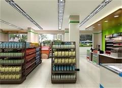 北京超市装修效果图 北京超市装修技巧