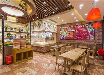 南京餐饮店装修公司哪家好 餐饮店简约装修效果图