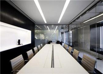 上海会议室装修效果图 会议室如何布置装饰