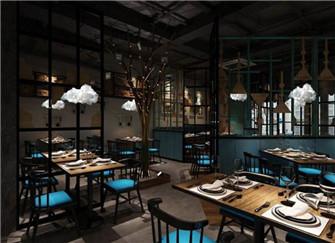 上海餐馆装修设计 上海餐馆装修效果图