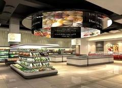 兰州超市装修价格 兰州超市室内装修效果图