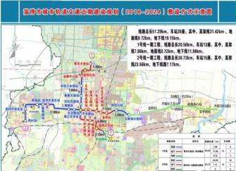 淄博轻轨开工最新消息 淄博轻轨1号线详细路线