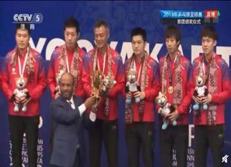 中国男乒夺得冠军历程 中国男乒3-0战胜日本、韩国夺冠军
