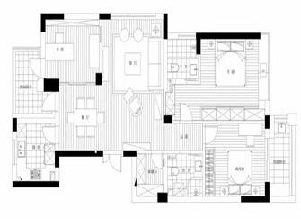 舟山中式装修公司哪家好 139平米中式简装样板房