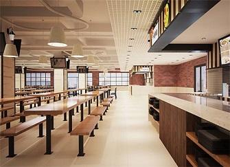 厦门厂房食堂装修注意事项 工厂食堂装修怎么设计