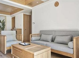 福州婚房日式风格装修案例 极度自然这才是家的感觉