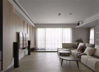 福州125平米装修多少钱 125平方三居室简约装修效果很大气