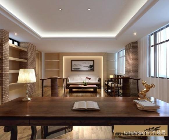 苏州新中式办公室690平米普通户型现代简约家装装修