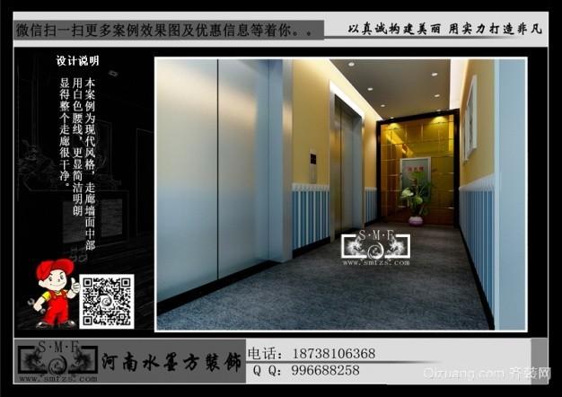 绿地之窗现代简约装修效果图实景图