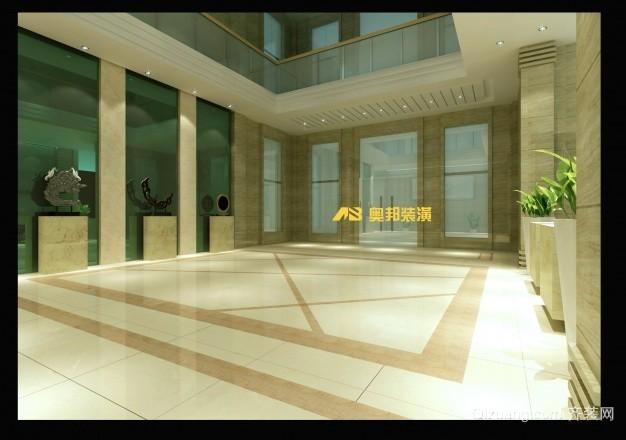 办公大楼现代简约装修效果图实景图