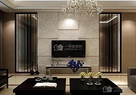 青岛装修效果图[现代简约]198平4房2厅装修设计