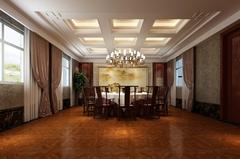 餐厅及会客厅