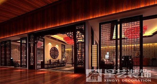中式家具展厅设计中式风格装修效果图实景图