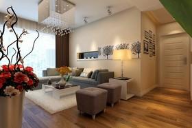 青岛装修设计[海尔鼎世华府]95平s1户型3居室现代简约风格