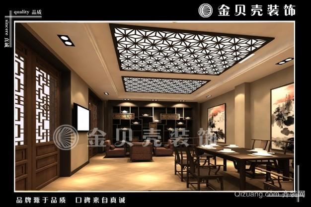 茶室中式风格装修效果图实景图