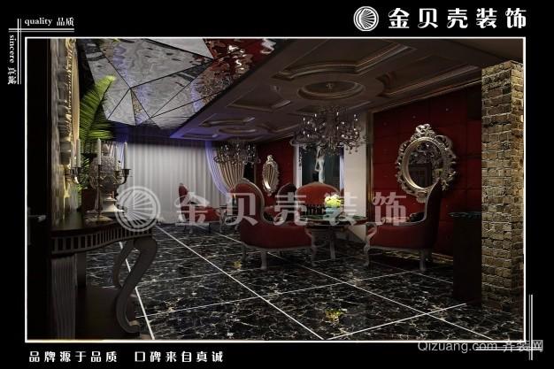 婚庆公司龚总古典风格装修效果图实景图