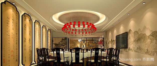 中式酒店中式风格装修效果图实景图