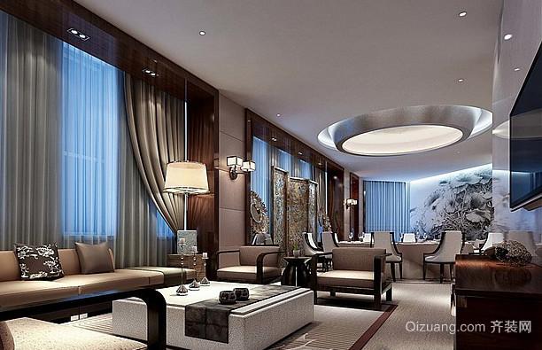 酒店1现代简约装修效果图实景图