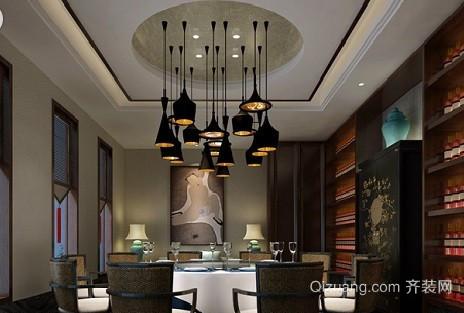 餐厅2中式风格装修效果图实景图
