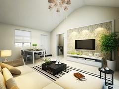 现代简约-柏丽甜果-二居室-83平米-装修设计