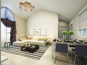 柏丽甜果-二居室-83平米-装修设计