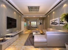 紫晖阁-二居室-90平米-装修设计