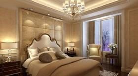 东城华庭-三居室-124平米-装修设计