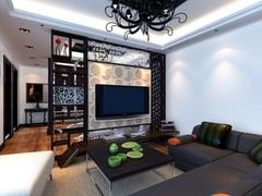 美式风格-越秀•可逸江畔-一居室-90平米-装修设计