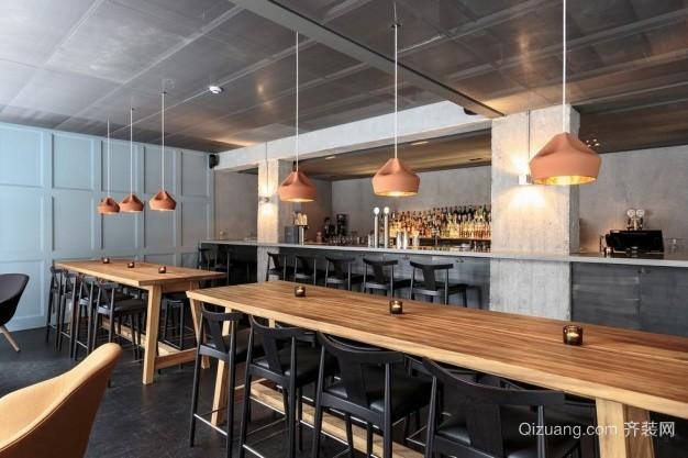 咖啡厅混搭风格装修效果图实景图