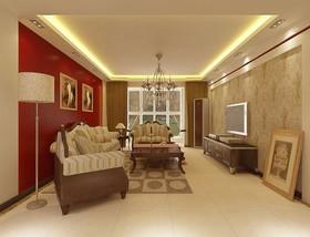 东港花园-二居室-92平米-装修设计