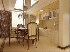 欧式风格-东港花园-二居室-92平米-装修设计