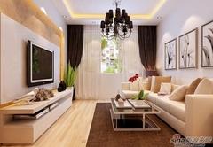 [实创约装修]-汇景湾87平h户型装修-现代简约浪漫婚房设计