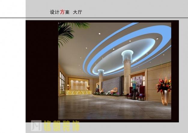 白云温泉会馆现代简约装修效果图实景图