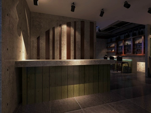 顺达广场秘越餐厅古典风格装修效果图