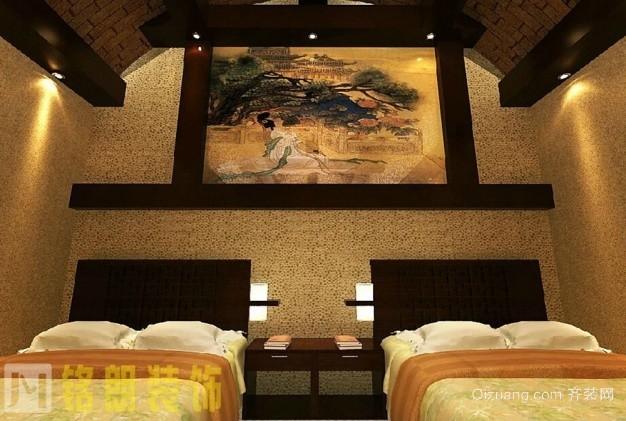 栾城窑洞中式风格装修效果图实景图