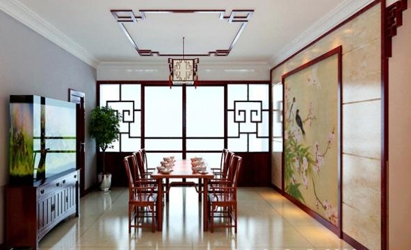 中式风格效果图