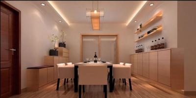 澄江现代简约风格效果图装修设计案例