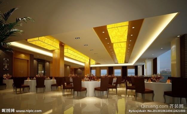 某酒店欧式风格装修效果图实景图
