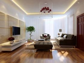 [南昌实创整体家装]-庐山西海新中式空间设计效果