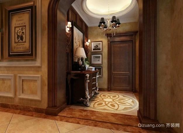 众森红谷一品古典风格装修效果图实景图